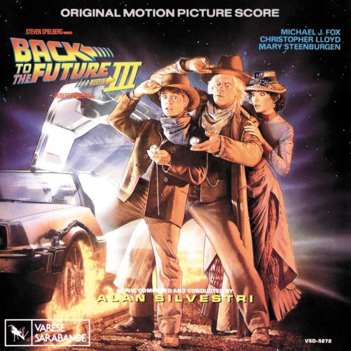 Ritorno al Futuro 3, la cover della colonna sonora