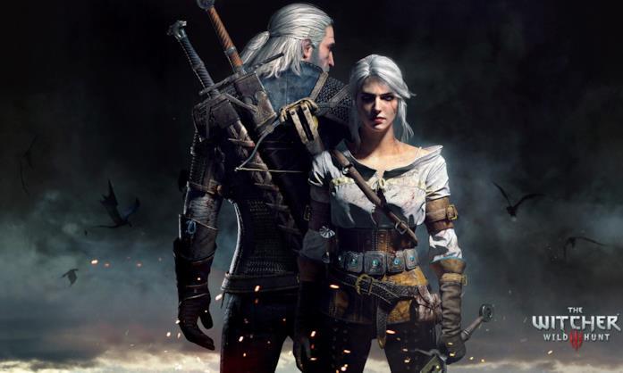 Witcher Geralt Ciri