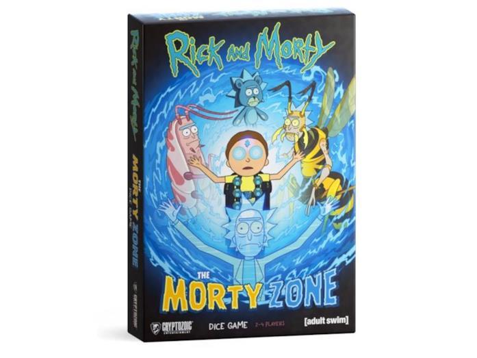Rick and Morty, copertina del nuovo gioco da tavolo
