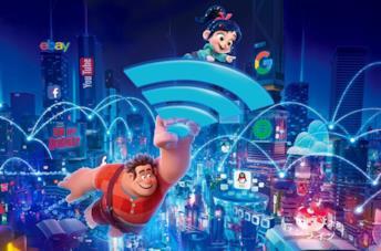 Vanellope e le principesse Disney