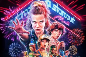 Il poster di Stranger Things 3