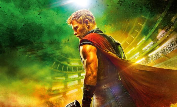 Chris Hemsworth, Tom Hiddleston e Mark Ruffalo al panel dei Marvel Studios al Comic-Con 2017