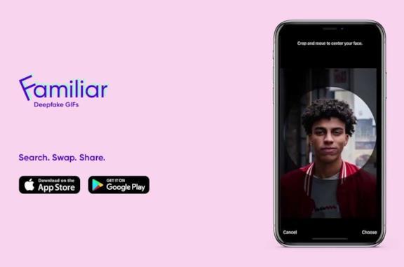 Familiar, app per MEME e GIF
