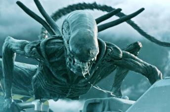 L'alieno in una immagine di Alien Covenant