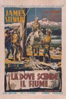 Poster Là dove scende il fiume