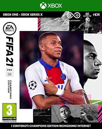 FIFA 21 Xbox One Champions, include upgrade per Xbox Series X