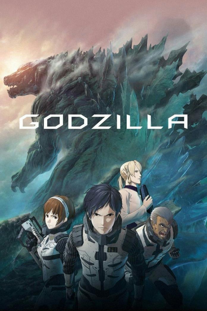 I protagonisti della trilogia anime su Godzilla di Netflix del 2017