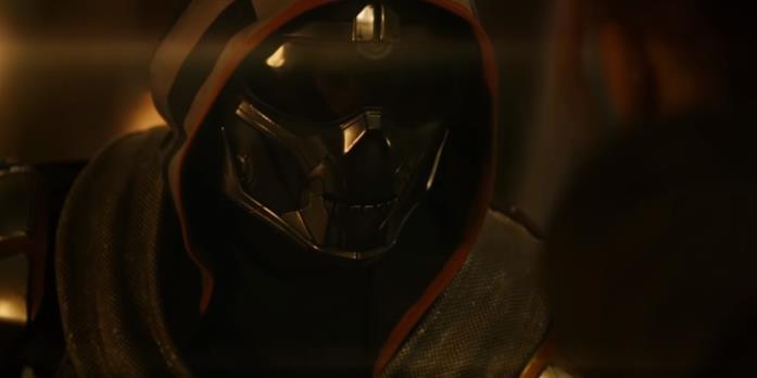 Taskmaster in una scena del film Black Widow