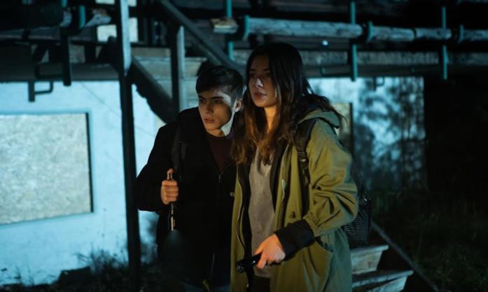 Mauro e Daria nella serie TV Curon