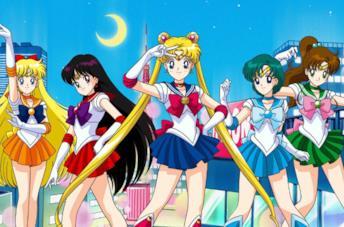Un'immagine delle guerriere Sailor