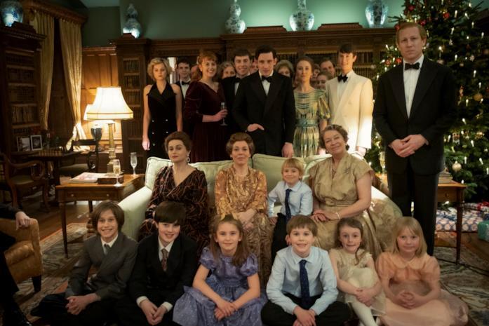 La famiglia reale al completo a Natale