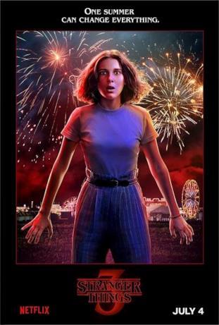 Eleven, personaggio principale di Stranger Things 3