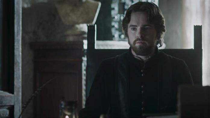 Giraldi nella serie Leonardo interpretato da Freddie Highmore