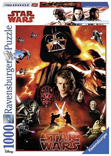 Ravensburger Italy- Puzzle Star Wars, 1000 Pezzi, 19777 4