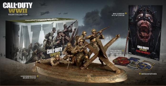 Call of Duty: WWII arriverà nei negozi il 3 novembre