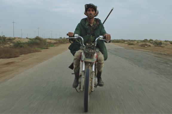 Alì in motocicletta