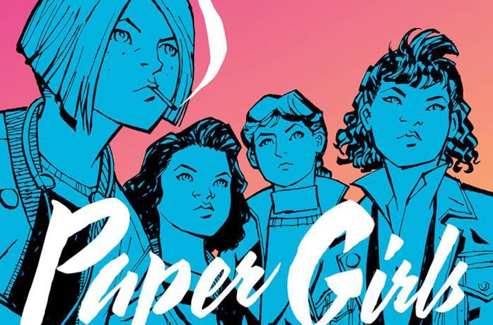 Immagine tratta dai fumetti di Paper Girls