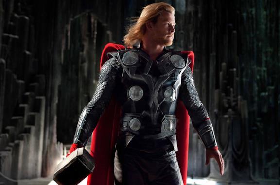 Thor nel primo film a lui dedicato