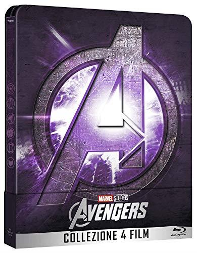 Avengers Collezione Completa Steelbook (Limited Edition) (5 Blu Ray)