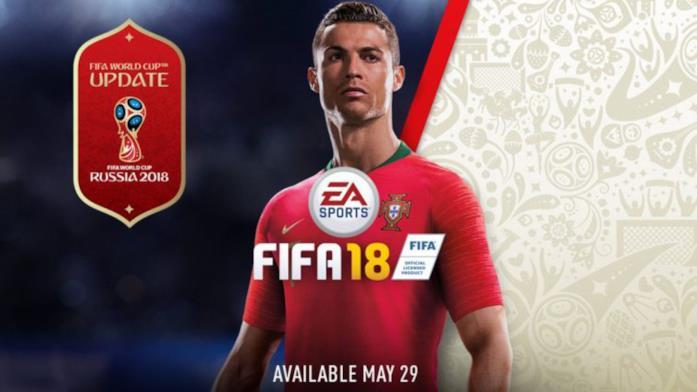 FIFA 18 si aggiorna per i Mondiali in Russia