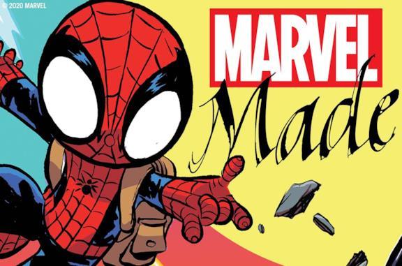 Il logo promozionale di Marvel Made