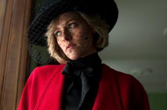 Kristen Stewart nel ruolo di Diana Spencer