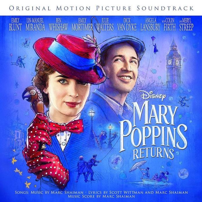 Il ritorno di Mary Poppins: colonna sonora