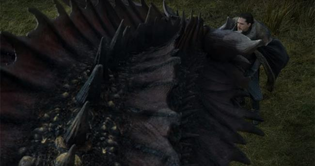 GoT: l'incontro tra Jon e Drogon