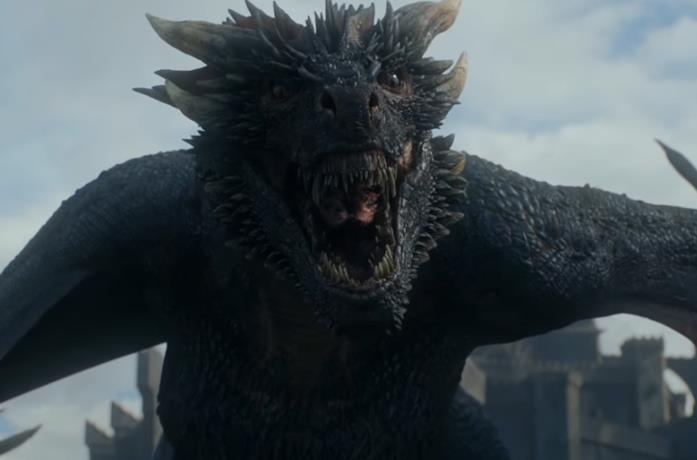 Drogon in Game of Thrones