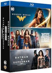 Wonder Woman/Justice League/Batman Vs Superman (3 Blu-Ray) [Edizione: Francia]