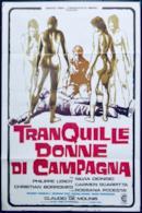 Poster Tranquille donne di campagna