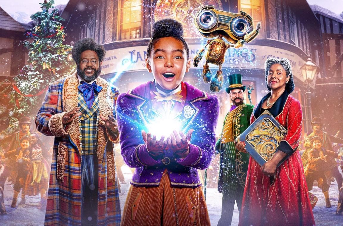 Il poster del film Jingle Jangle