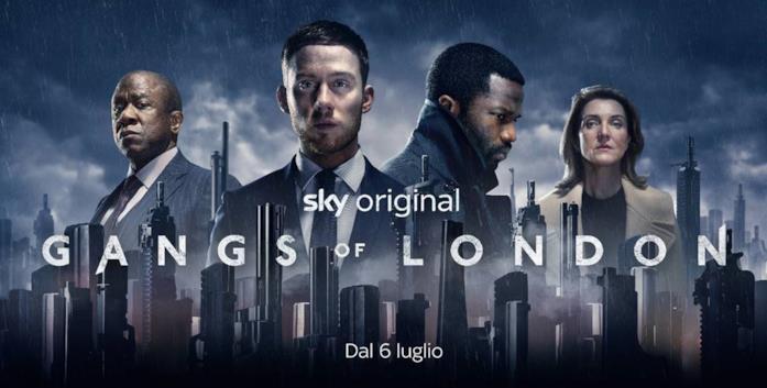 Gangs of London: il poster della serie