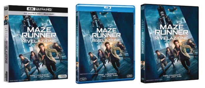 Maze Runner - La rivelazione in Home Video