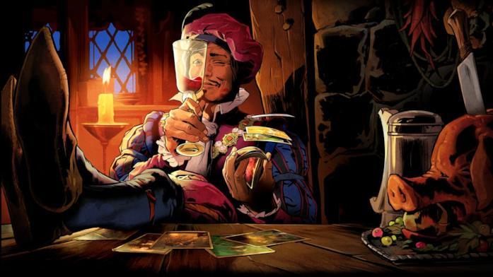 Il compagno cantastorie dei viaggi di Geralt, Ranuncolo