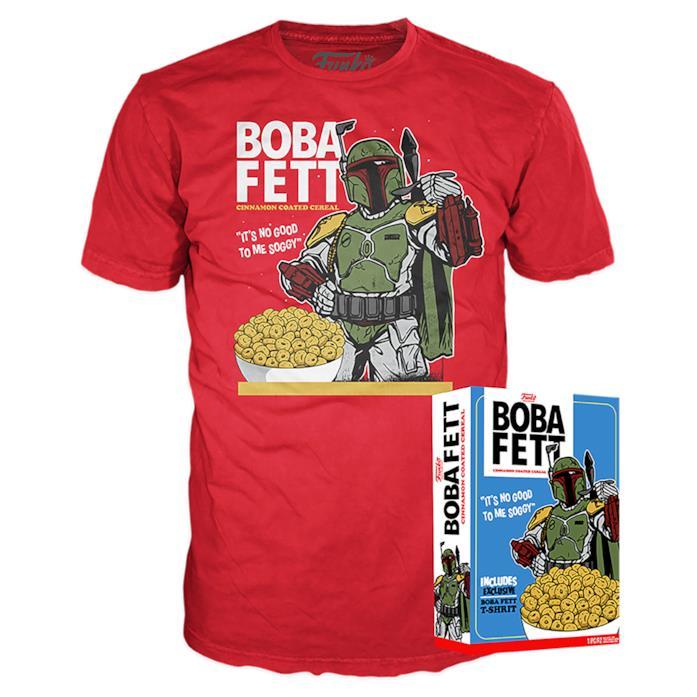 Funko Boxed Tee Star Wars - Boba Fett