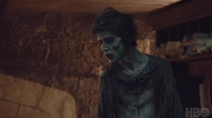 Uno degli zombie del Trono di Spade