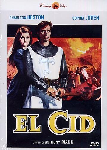 Cofanetto DVD di El Cid