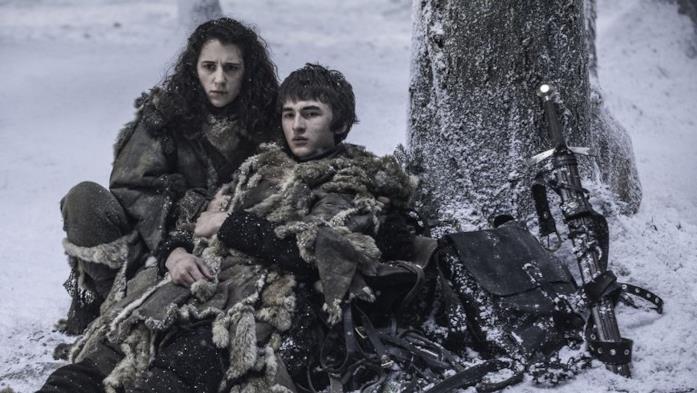 Meera Reed e Bran Stark