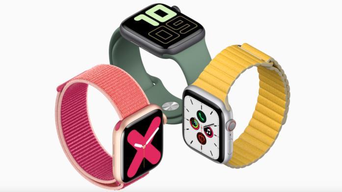 Immagine stampa di Apple Watch Series 5