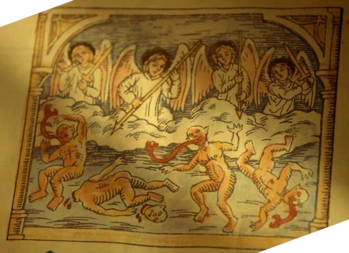 L'Occio Lumen è il diabolico libro che racconta la storia degli strigoi