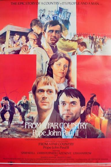 Poster Da un paese lontano