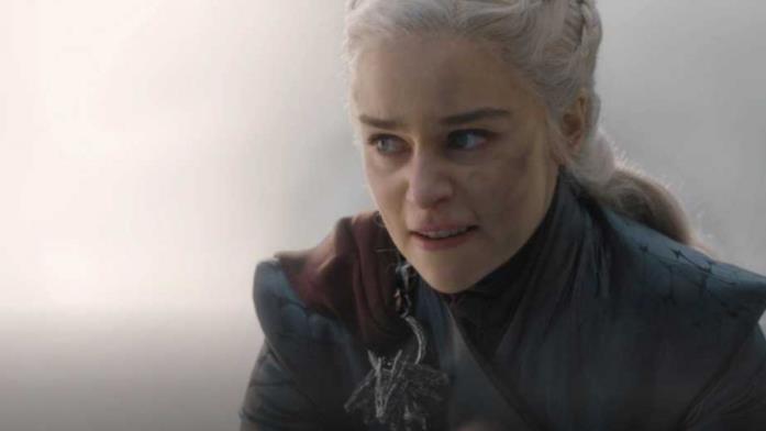 Daenerys infuriata in GoT 8x05
