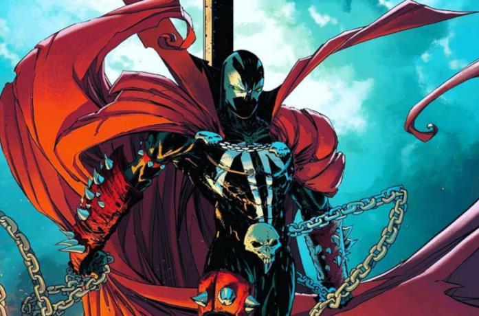 Un'immagine di Spawn dai fumetti Image Comics