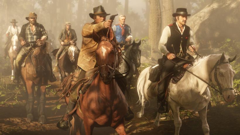 Alcuni dei protagonisti di Red Dead Redemption 2