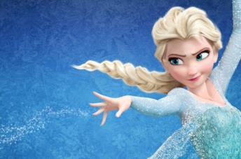 Un'immagine che ritrae Elsa, una delle protagoniste di Frozen