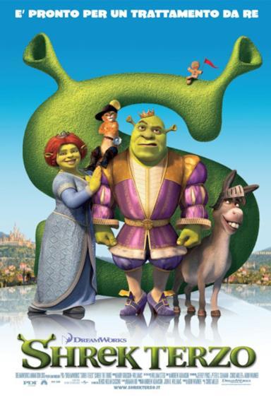 Poster Shrek terzo