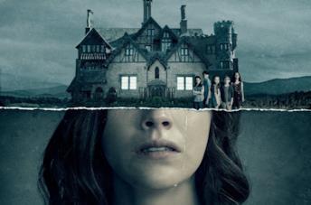 La locandina di L'uscita di The Haunting of Hill House