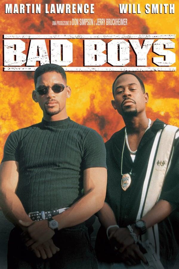 I due protagonisti di Bad Boys nel Poster del film del 1995