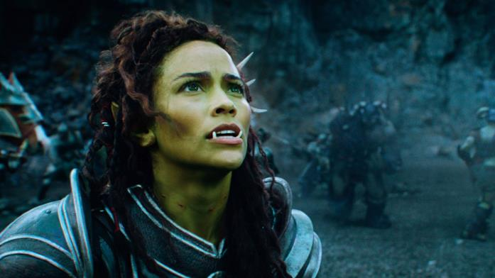 Una sequenza di Warcraft: L'inizio con protagonista Garona